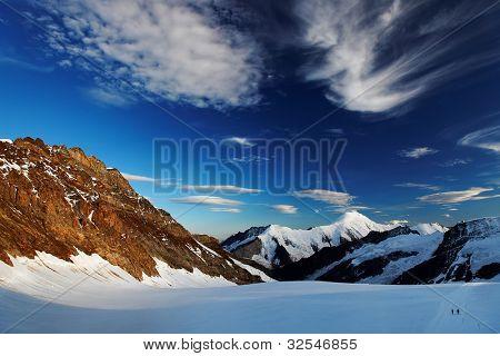 Aletsch Glacier, Berner Oberland, Switzerland - UNESCO Heritage