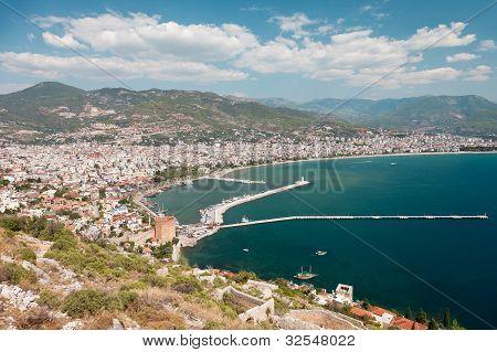 East Coast Beach Resort Of Turkey Alanya