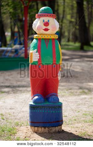 Figurine Of A Clown