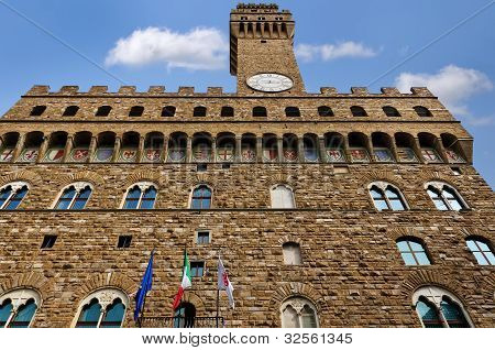 The Palazzo Vecchio, Florence