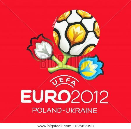 Official logo for UEFA EURO 2012