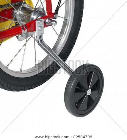 Stabilizer On A Bicycle