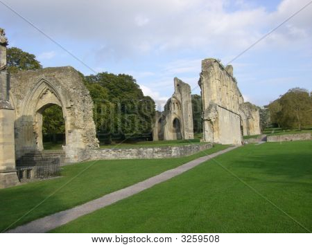 Glastonbury Abbey Ruins 2