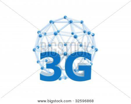Bola de gaiola de rede 3G