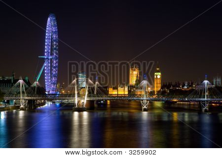 River Thames In Colour