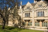 pic of magdalene  - View of the Old Library of Magdalen College - JPG