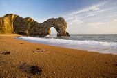 Durdle Door Rock Arch In Dorset UK