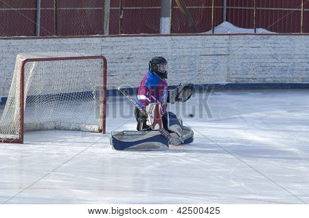 Goaltender Of Desna Team