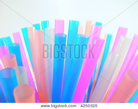 Many Coloured Straws