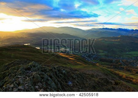 Erzgebirge des Lake district