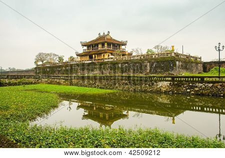 Imperial City (Citadel) in Hue, Vietnam