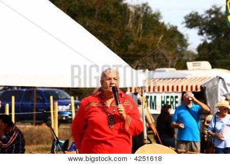 Native American Story Teller