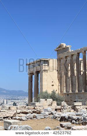 Part Of Erechtheum Ancient Temple