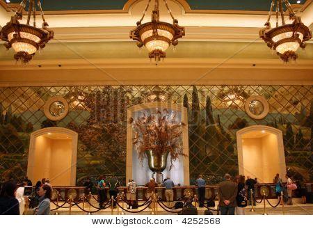 Las Vegas Palazzo Hotel Lobby