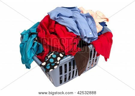 Dirty Laundry In Basket XXXL
