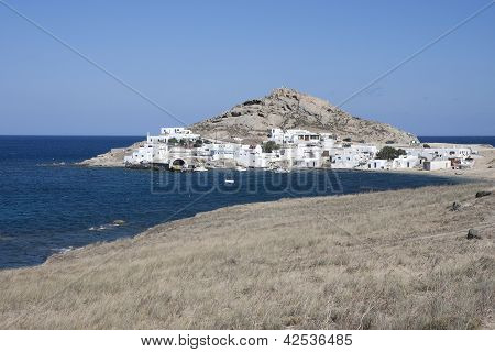 Agia Anna In Mykonos Island, Cyclades, Greece
