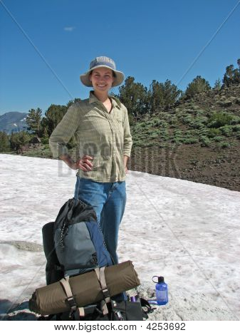 Hiker With Gear
