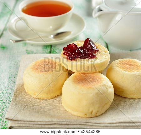 Traditional English muffins