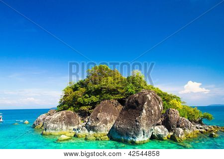 Marine Fantasy Rock Island