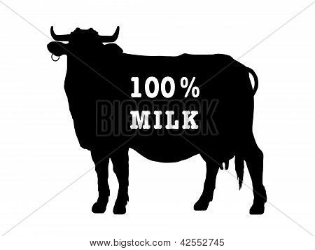 Symbol Of A Milch Cow