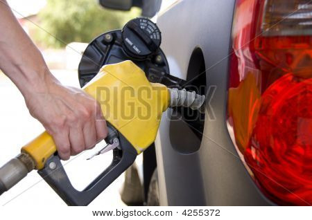 Pumping Gas Or Petrol