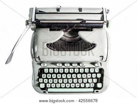Typewriter grunge style