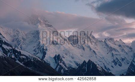 Mount Masherbrum (k1), Karakorum, Pakistan