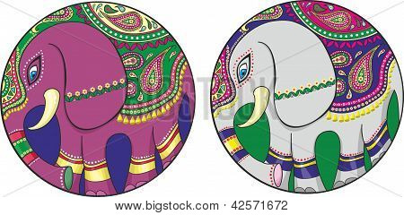 Indian Elephant.eps