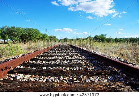 Old Railroad At Portuguese Field