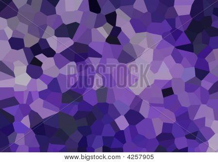 Small Purple Crystals