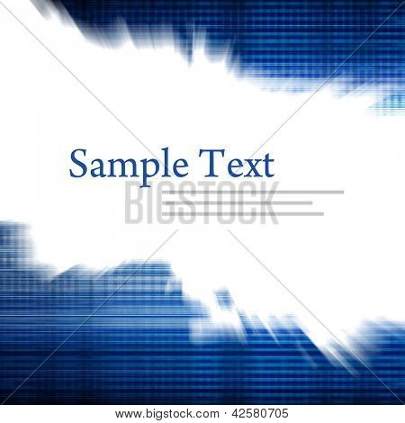 abstract motion background with copy space