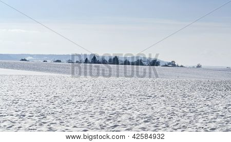 Hohenlohe At Winter Time