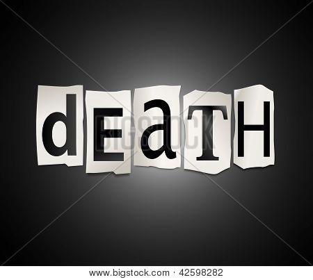 Death Concept.