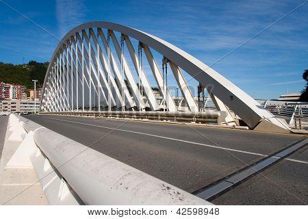 Bridge In Ondarroa, Bizkaia, Spain