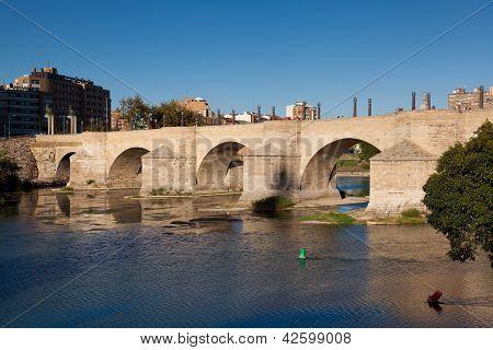 Bridge Of The Pilar, Zaragoza, Spain