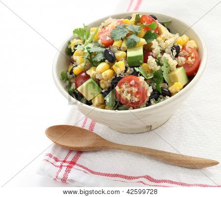 quinoa salad, vegetarian food