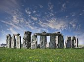 image of stonehenge  - Mysterious Stonehenge in UK - JPG
