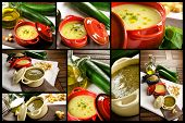 stock photo of vegetable soup  - Vegetables soup - JPG