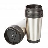 picture of thermos  - Two travel thermos - JPG