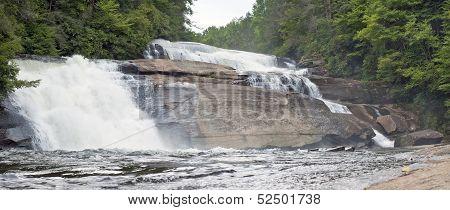 Triple Falls Panorama