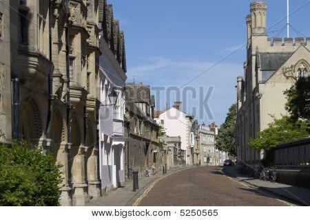 Merton Street. Oxford. England