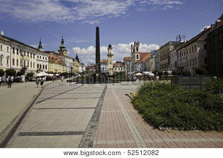 Town square in Banska Bystrica