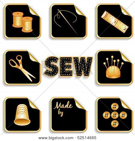 Sewing Stickers