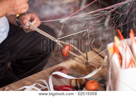 Manufacturing fishing net