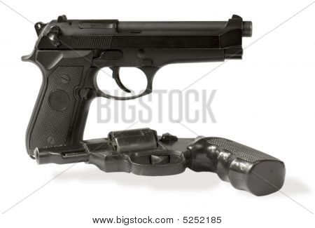 Handgun And Revolver