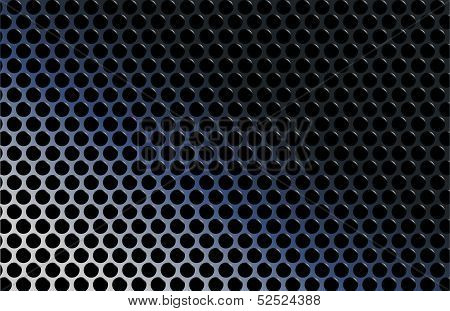 abstract techno metallic gradient grid vector illustration