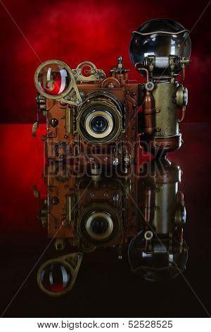Camera Steampunk.