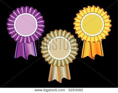 Award Seal Rosette Set