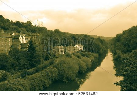 The River Severn At Ironbridge