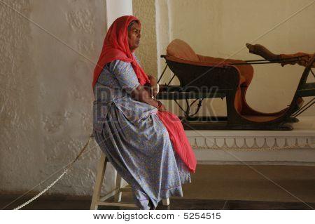 Custodian Lady